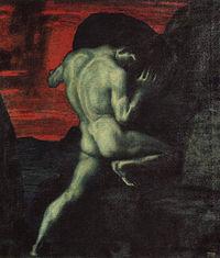 200px Sisyphus by von Stuck